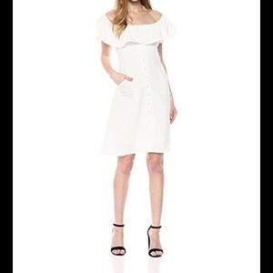 LUCCA COUTURE OFF SHOULDER DRESS